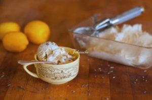 カモミール&ラベンダーアイスクリーム